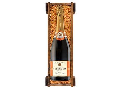 Champagner als Werbemittel mit logo versehen