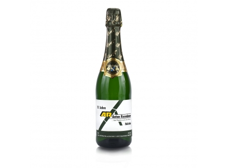 Champagner individuell bedruckt mit Logo