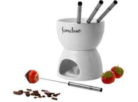 fondueset als Werbemittel mit logo versehen