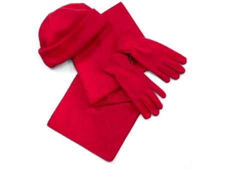 Fleece-Handschuhe an Kunden, Mitarbeiter, Interessenten oder Geschäftspartner weitergeben.
